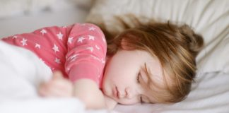 children sleep