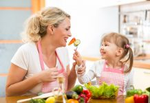 mom-daughter-eating-vegetables-Custom