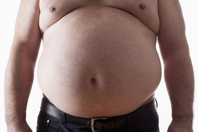 مرد چاق