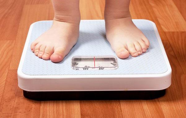 وزن کودک