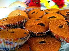 کیک های کوچک بدون شکر