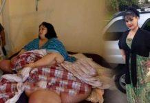 سنگین ترین زن دنیا